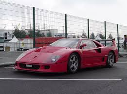 The ferrari f40 utilized a three pipe exhaust system. 1989 1994 Ferrari F40 Lm Top Speed