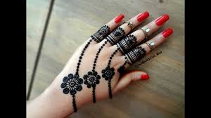 Simple And Easy Henna Designs For Hands Beautiful Trendy Simple Easy Henna Mehndi Design For Hands For Eid Weddings