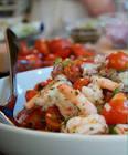 cat cora s greek shrimp and caper salad
