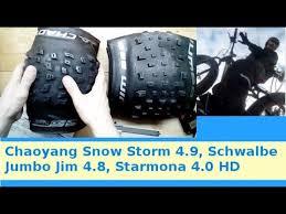 Обзор <b>покрышек</b> для фэтбайка: Chaoyang Snow Storm 4.9 ...
