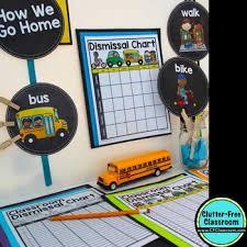 Dismissal Chart How We Get Home Chart Aqua Chevron Editable