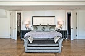 end of bed sofa. Upper Wimpole Street | Marylebone W1G Contemporary-bedroom End Of Bed Sofa E