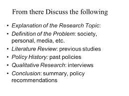 research paper choose a policy problem issue examples crime explanation of the research topic definition of the problem society personal media