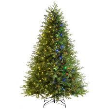 Dual Led Light Christmas Tree Pre Lit Windsor Fir Multi Function Christmas Tree With 400 Multi Dual Led Lights 6 Feet 1 8 M