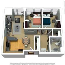 2 bed 1 bath 650 sq ft