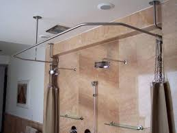 curved double shower curtain rods photo 6 of 9 superb custom shower curtain rods 6 amazing curved double