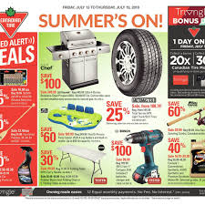 canadian tire weekly flyer weekly summer s on jul 13 19 redflagdeals com