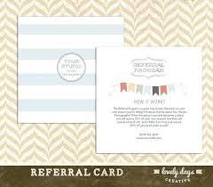 Referral Cards Template Worldtreasury Info
