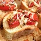 baked bruschetta