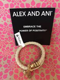 alex and ani disney parks bracelet mickey mouse wrap leather bracelet cream