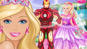barbies superhero wedding dress up game barbie game for s