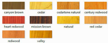 Rymar Stain Color Chart Duckback Superdeck Transparent Stain 1900