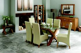 glass dining room table with leather chairs. glass dining room table with leather chairs