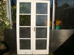 shed summerhouse french doors