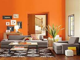 orange wall paintLiving Room Awesome Orange Paint Colors For Living Room Best