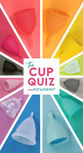 Put A Cup In It Chart The Menstrual Cup Quiz Find Your Best Fit By Put A Cup