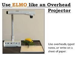 Elmo Projector Elmo Projector Tutorial