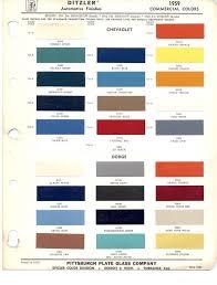 Ppg Paint Color Chart Ppg Automotive Paint Color Chips Paint Color Chart Paint