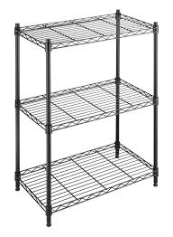 shelving system kitchen metal shelf unit wire storage rack steel