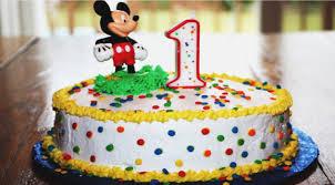 Mickey Mouse Birthday Cake For 1 Year Old Boy Birthdaycakefordaddyga