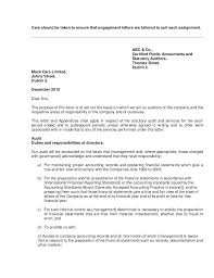 Audit Engagement Letter Sample Template Amazing Audit Letter Sample Smsf Management Template Usgenerators