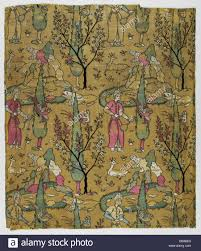 textile with design of wine bearer in landscape m 66 74 1 1 of 2