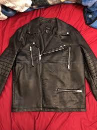 forever 21 men biker jacket
