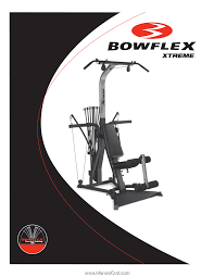 bowflex xtreme embly and owners manual