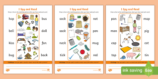 Use our 2nd grade phonics worksheets to build important skills in your students. I Spy And Read Phase 2 Phonics Picture Reading Worksheets