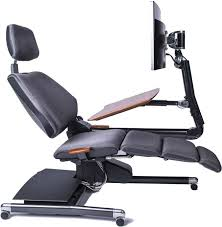 Office reclining chair Swivel App Slide Incredible Things The Altwork Station The New Way To Work