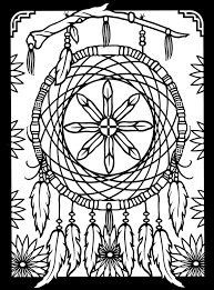 Small Picture Native american dreamcatcher coloring pages ColoringStar