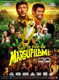 Auf den Spuren des Marsupilami (2012) - Poster — The Movie Database (TMDB)