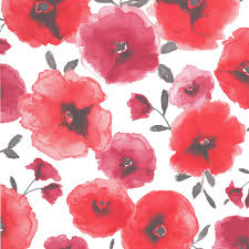 Red Flower Wallpaper Red Floral Wallpaper Shared By Jaylynn Scalsys