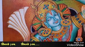 kerala mural painting krishna coloring
