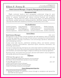Hotel Manager Resume Example Examples Of Resumes Management Pics