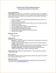 Preschool Teacher Sample Resume Lezincdc Com