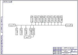 Ремонт впускного клапана с организацией участка по ремонту деталей ГРМ  Структурная схема разборки ГРМ