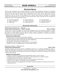 Telephone Sales Representative Resume Example Examplesplates
