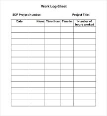Work Log Sheet Sign In Sheet Template Sign In Sheet