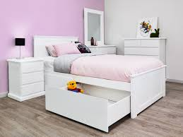 kids full size beds with storage. Beautiful Storage White Kids King Single Storage Bed U2013 Fantastic Timber Frame With Full Size Beds