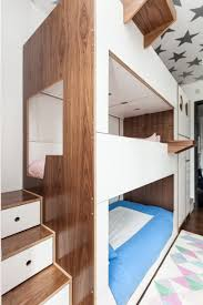 3 Bunk Beds Designs Casa Kids Designed A Triple Bunk Bed Packed With Storage For