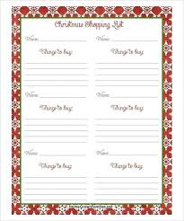 Christmas Card List Template Wish List Essay Xmas Template Christmas Free Benedicts Co