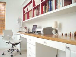 Simple small home office design Spaces White Paint Keeps The Space Fresh And The Modern Office Chair Of Thin Bent Wood Beckons You To Take Seat Design By Brian Patrick Flynn Quiet Corner Modern Furniture Small Home Office Design Ideas 2012 From Hgtv