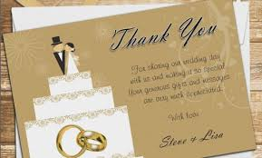 Thank You Cards Design Your Own 10 Personalised Cake Topper Wedding Thank You Cards N10 Design
