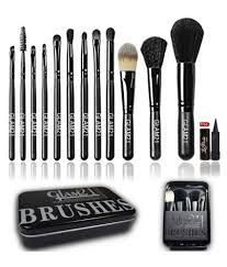 glam21 makeup brush kit box set of 12 no s at best in india snapdeal