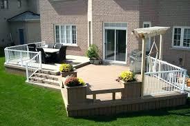 backyard deck design ideas. Unique Design 2 Level Deck Designs Beautiful Pics Of Low Design  Pertaining To Prepare  Inside Backyard Ideas R