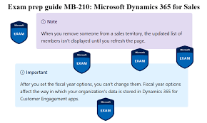 For Sales Exam Prep Guide Mb 210 Microsoft Dynamics 365 For Sales