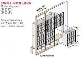 mailbox dimensions. Mailboxes (standard, Rack Ladder And Data Distribution Systems) Are Ideal For Use In Colleges Schools, Private Postal Centers, Government Agencies, Mailbox Dimensions