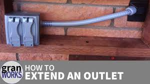 how to extend an electrical outlet how to extend an electrical outlet