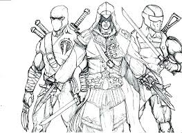 Assassins Creed Coloring Pages Onepieceatatimeinfo